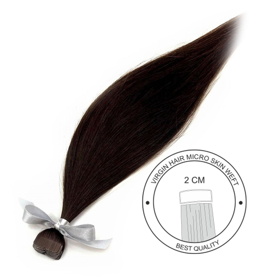 Włosy dziewicze do metody kanapkowej