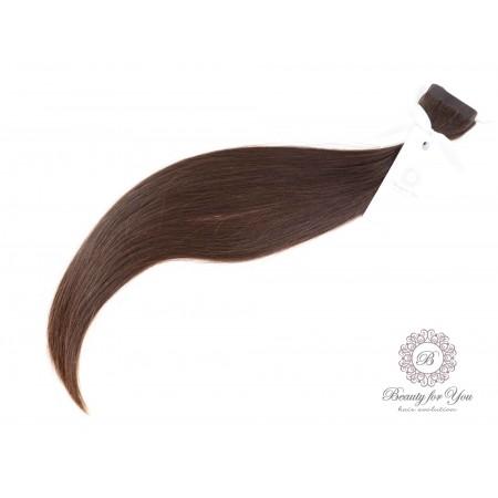 włosy do przedłużania dziewicze polskie do metody skin weft kanapkowej